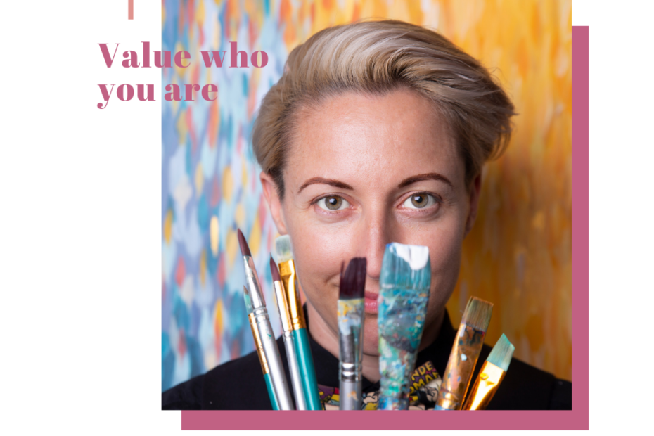 We talk business, creativity and the importance of value with Artist, Speed painter and Key Note speaker Sarah Rowan.