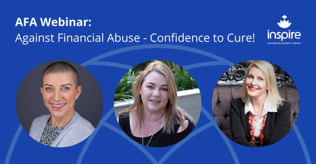 AFA Webinar : Against Financial Abuse - Confidence to Cure!