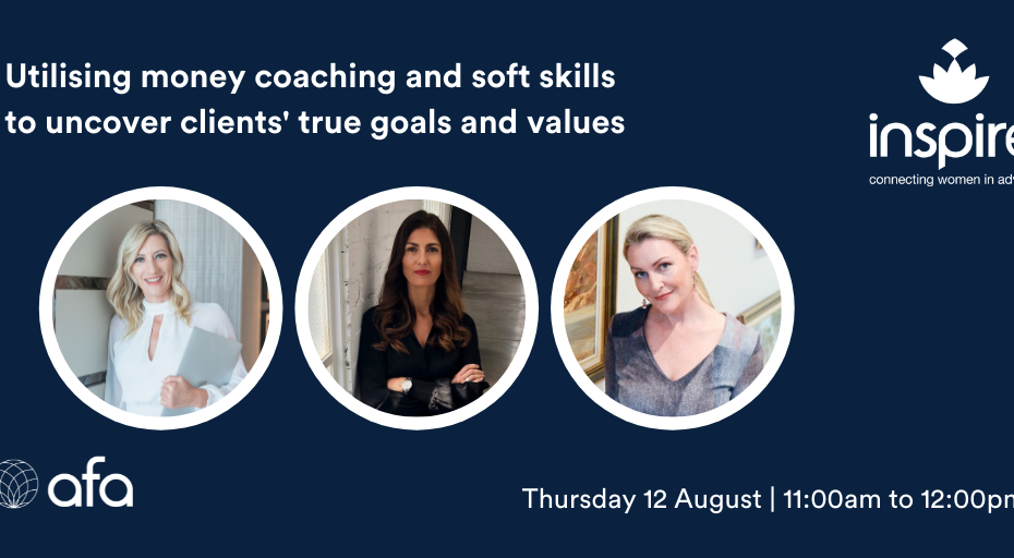 Utilising money coaching and soft skills to uncover clients' true goals and values